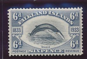 Falkland Islands Stamp Scott #71, Mint Hinged - Free U.S. Shipping, Free Worl...