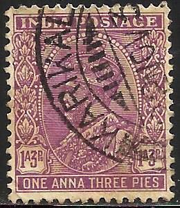 India 1932 Scott# 136 Used