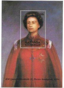 1993  GRENADINES OF GRENADA  -  SG.  MS 1627  -  ANNIVERSARY OF CORONATION - MNH
