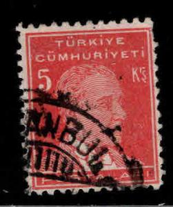 TURKEY Scott 745 Used stamp