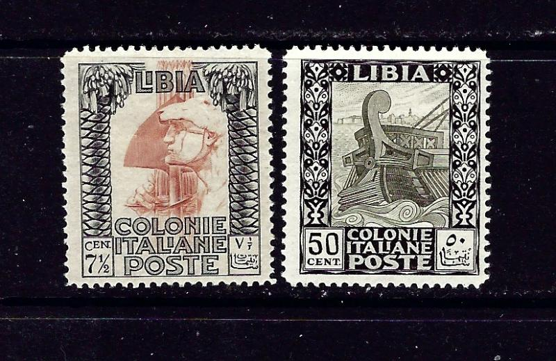 Libya 50 and 55 Used 1924-31 issues