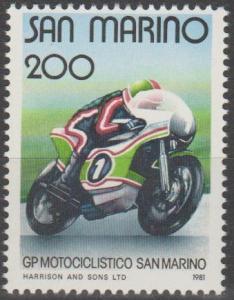 San Marino #1006  MNH F-VF (SU1250)