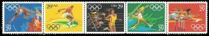 PCBstamps     US #2553/2557a Strip $1.45(5x29c)Summer Olympics, MNH, (3)