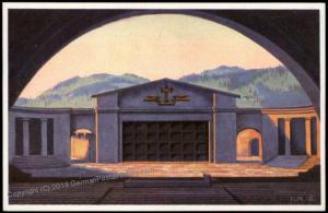 Germany 1930 Oberammergau Bavaria Passionspiel Private GSK Postal Card Cov 68572