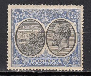 Dominica - 1923 KGV 2 1/2p  Sc# 72 - MH (2473)
