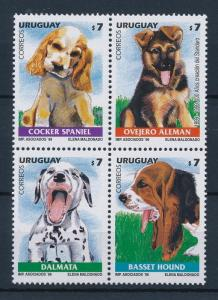 [39700] Uruguay 1999 Animals Dogs MNH
