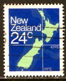 New Zealand: 1982: Sc. #: 649, O/Used Single Stamp