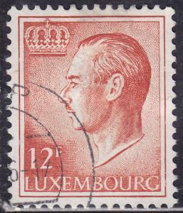 Luxembourg 573 Hinged 1975 Grand Duke Jean