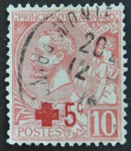 DYNAMITE Stamps: Monaco Scott #B1 – USED