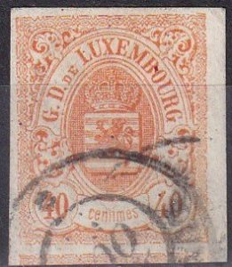 Luxembourg #12 F-VF  Used  CV $240.00  Z1132