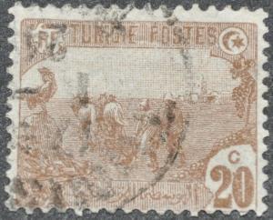 DYNAMITE Stamps: Tunisia Scott #38 - USED