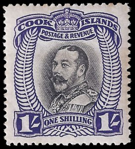 Cook Islands 1932 Sc 90 MH F  George V