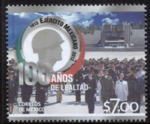 MEXICO 2825, Centenary of the Mexican Army-II. MINT, NH. F-VF.