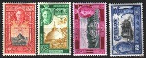 Sri Lanka. 1947. 248-51. Ceylon tourist attractions, architecture. MLH.