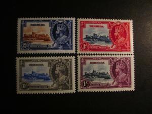 Bermuda #100-03 Mint Never Hinged- (KB8) WDWPhilatelic