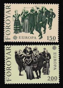 Faroe Is. Europa CEPT issue 1981 2v SG#62-63 SC#63-64