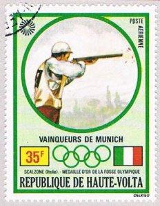 Burkina Faso C109 Used Gold medal shooter 1972 (BP47504)