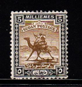 Sudan - #83 Camel Post - Used