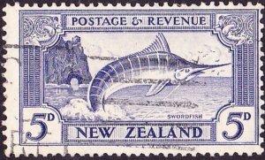 NEW ZEALAND 19425dUltramarineSG584cUsed