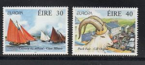 Ireland Sc 1124-25 1998 Europa, Fairs, stamp set mint NH