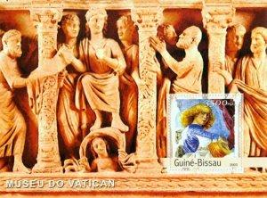 Guinea-Bissau MNH S/S Vatican Museum Art 2003