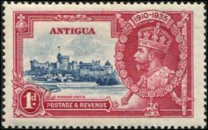 Antigua SC# 77 SG# 91 George V Jubilee 1d MH