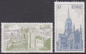 Ireland #643-4 F-VF Used CV $4.75 (ST881)
