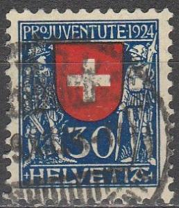 Switzerland #B32 F-VF Used  CV $11.00  (S6903)