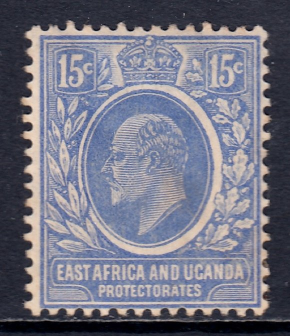 East Africa and Uganda - Scott #36 - MH - Thin - SCV $30.00