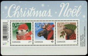 Canada Stamp #2879 - Christmas: Animals (2015) $4.55
