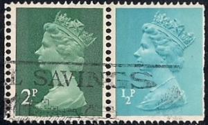 Great Britain #625 2P Queen Elizabeth 2, Stamp used VF