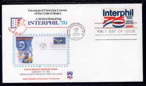 US 1632 Interphil Fleetwood U/A FDC