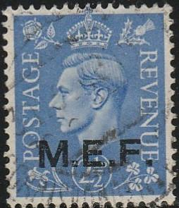 Great Britain, Middle East Forces, #3  Used From 1942-43