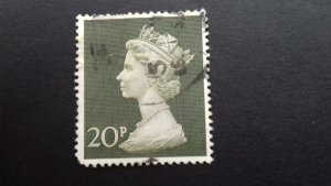 Great Britain1970 Queen Elizabeth II - Enlarged Issue Used