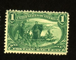 US #285 MINT FVF OG NH Cat$70