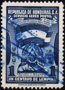 Honduras. 1949 1c S.G.472 Fine Used