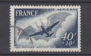 J29316, 1948 france set of 1 used #cb3 airmail