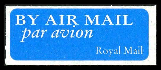 Royal Mail - Air Mail Stamp