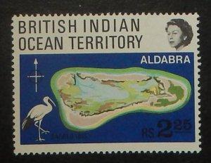 British Indian Ocean Territory 34. 1969 Aldabra Atoll, Ibis