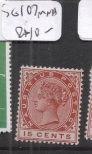 Mauritius SG 107 MNH (8dms)