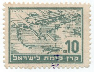(I.B) Israel Revenue : Duty Stamp 10s (Port)