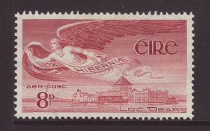 1954 Ireland 8d Airmail Mint SG142b