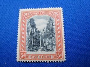 BAHAMAS SCOTT #34 - 1903 VF/MH    (apsB22)