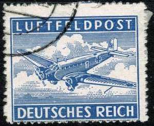 GERMANY 1942 MILITARY FEILD POST AIR MAIL USED (VFU) SG M804 P.13.5 FINE