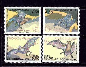 Somalia 557-60 MNH 1985 Bats