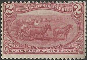 # 286 Copper Red Mint No Gum Fault Farming In The West