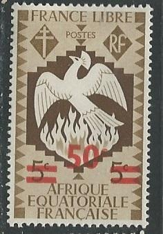 French Equatorial Africa  + Scott # 158 - MH