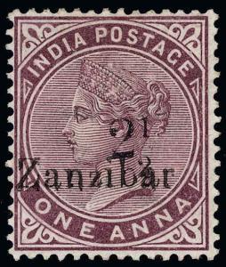 Zanzibar Scott 18I Gibbons 23I Mint Stamp