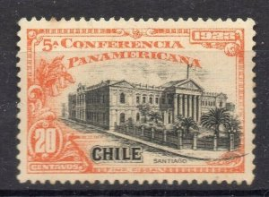 Chile 1923 Pan America Issue Mint hinged Shade of 20c. NW-13095
