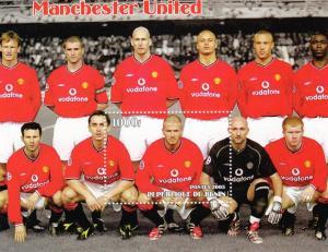 Benin 2003 Manchester United Football Club SS (1)  perf.mnh